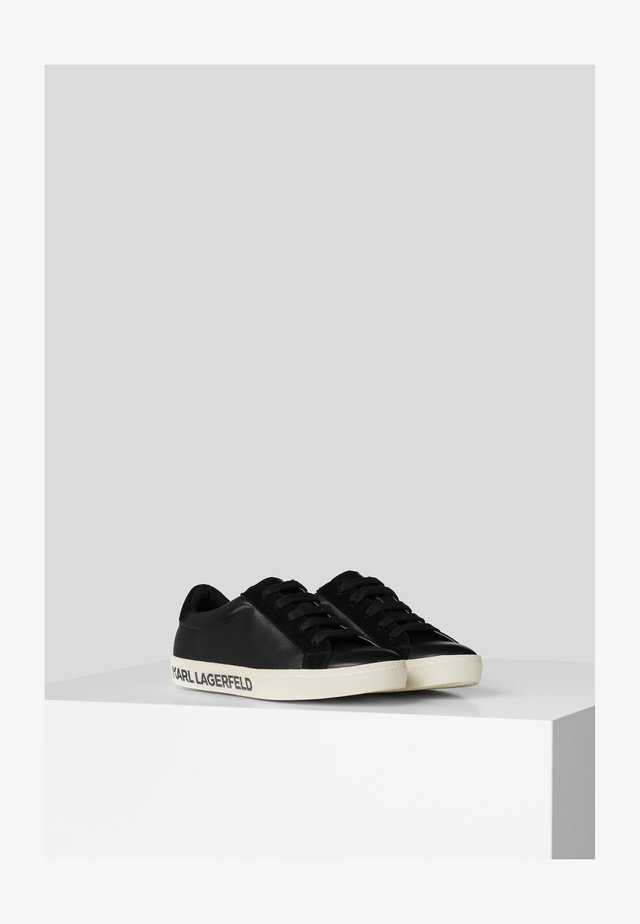 LAGERFELD LOGO - Zapatillas - black