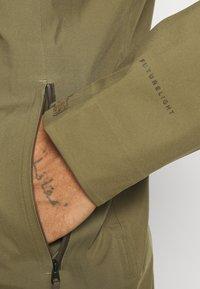 The North Face - APEX FLEX FUTURELIGHT JACKET - Hardshell jacket - olive/taupe - 4