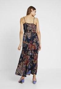 YAS - YASVINDA STRAP DRESS - Maxi dress - dark blue - 2