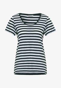 Street One - IM STREIFEN - Print T-shirt - grün - 0