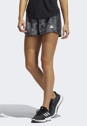 PACER WOVEN FLORAL SHORTS - Pantaloncini sportivi - black