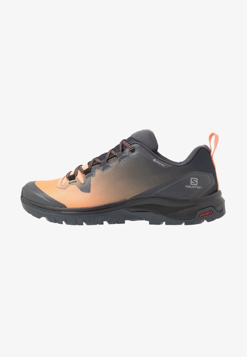 Salomon - VAYA GTX - Hiking shoes - ebony/cantaloupe/black