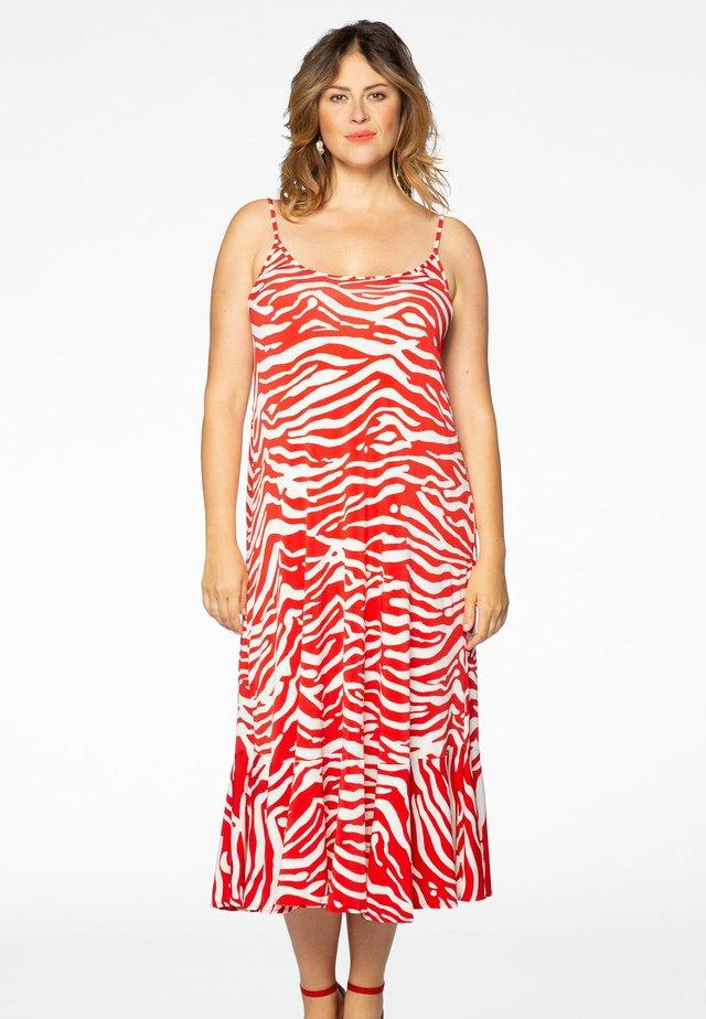 ANIMAL PRINT - Robe d'été - red