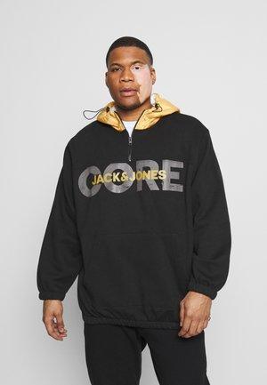 JCOJAQUE HALF ZIP HOODPS - Hoodie - black