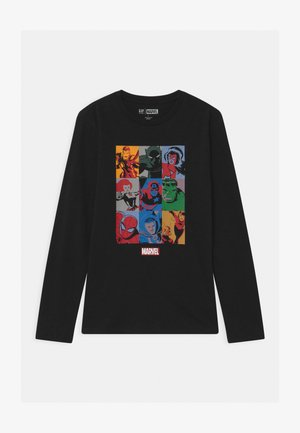 BOY MARVEL - Long sleeved top - true black