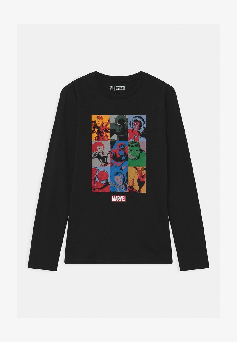 GAP - BOY MARVEL - Langarmshirt - true black