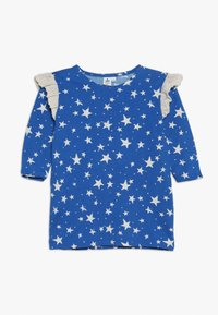 Noé & Zoë - RUFFLE DRESS - Jersey dress - blue - 0