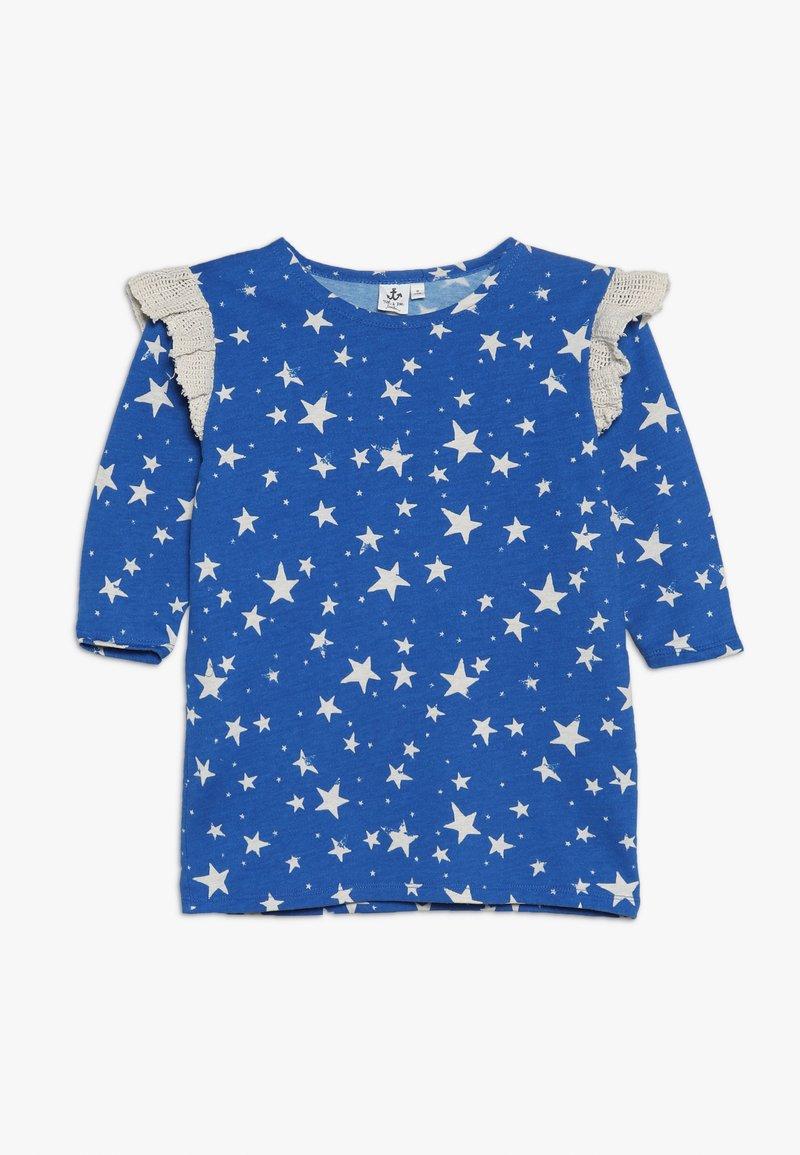 Noé & Zoë - RUFFLE DRESS - Jersey dress - blue