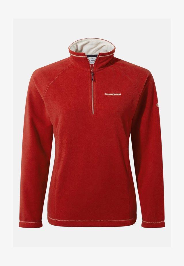 Fleece jumper - pompeian red