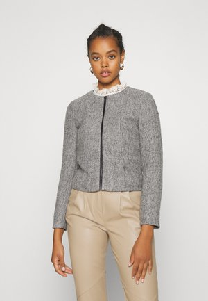 ONLTIPPIE MAYA SHORT ZIP JACKET - Blazer - medium grey melange
