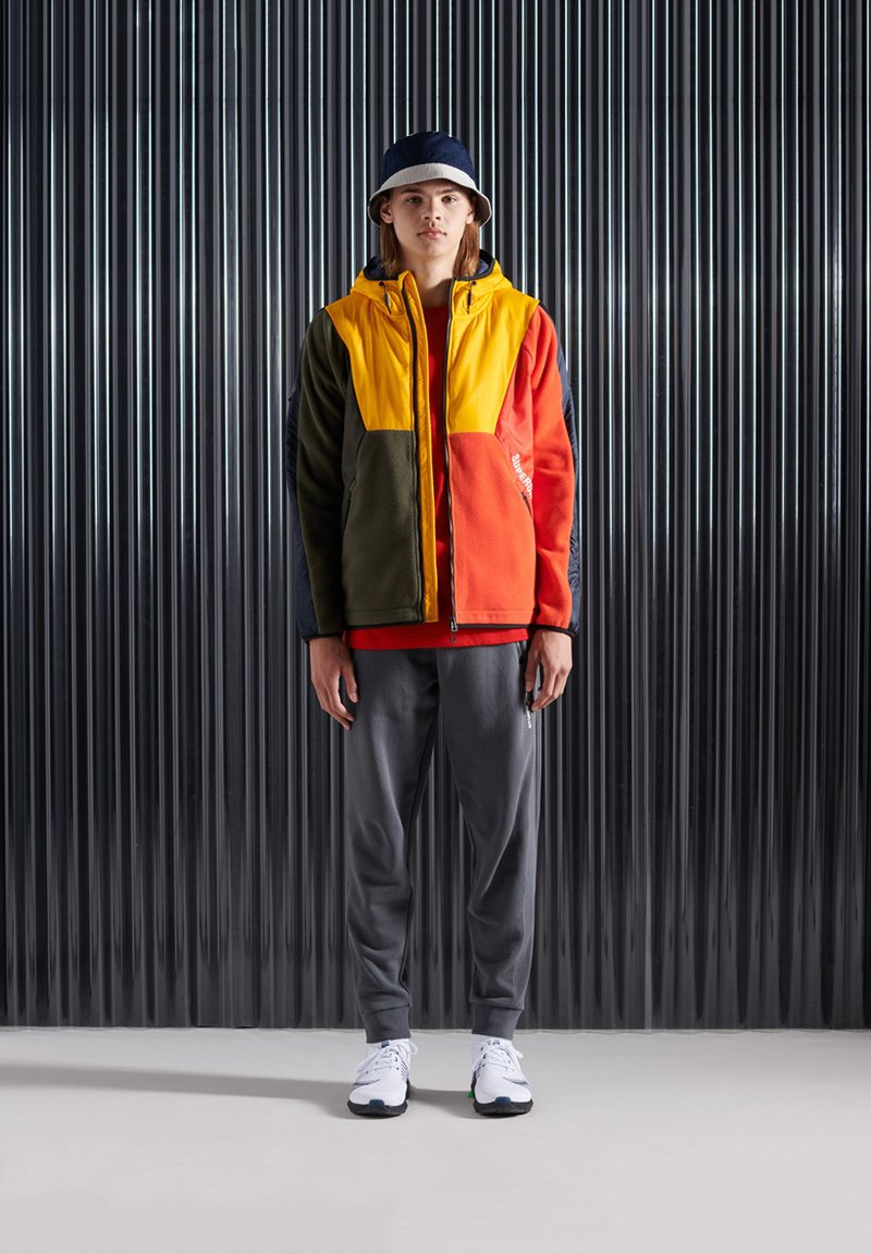 Superdry - Tracksuit bottoms - iron gate