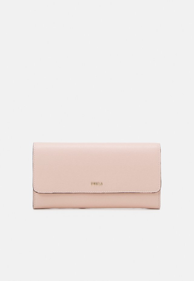 BABYLON CONTINENTAL WALLET SLIM - Portefeuille - candy rose/ballerina
