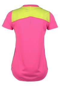Puma - IGNITE  - Print T-shirt - luminious pink / fizzy yellow - 1