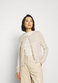 Selected Femme - SLFINKA CARDI - Cardigan - birch melange - 0