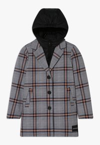 Calvin Klein Jeans - TAILORED CHECK COAT - Winter coat - grey - 0