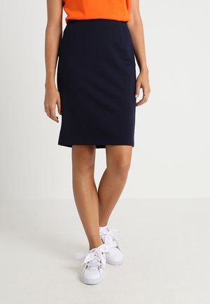 PONTE SKIRT  - Kynähame - dark blue