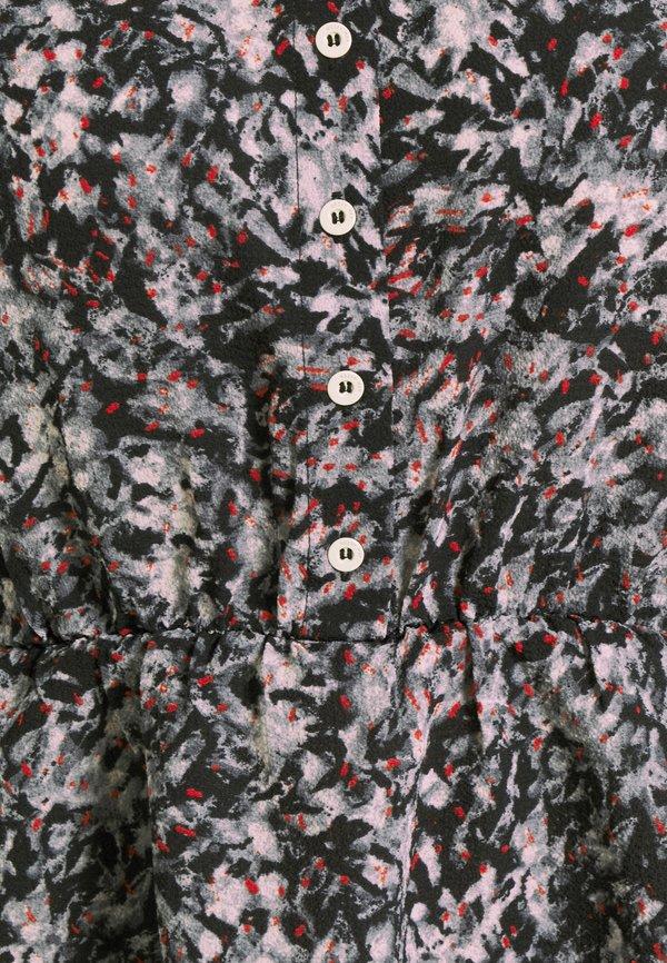 Noisy May NMWANDA - Koszula - black/abstract/czarny ICXB