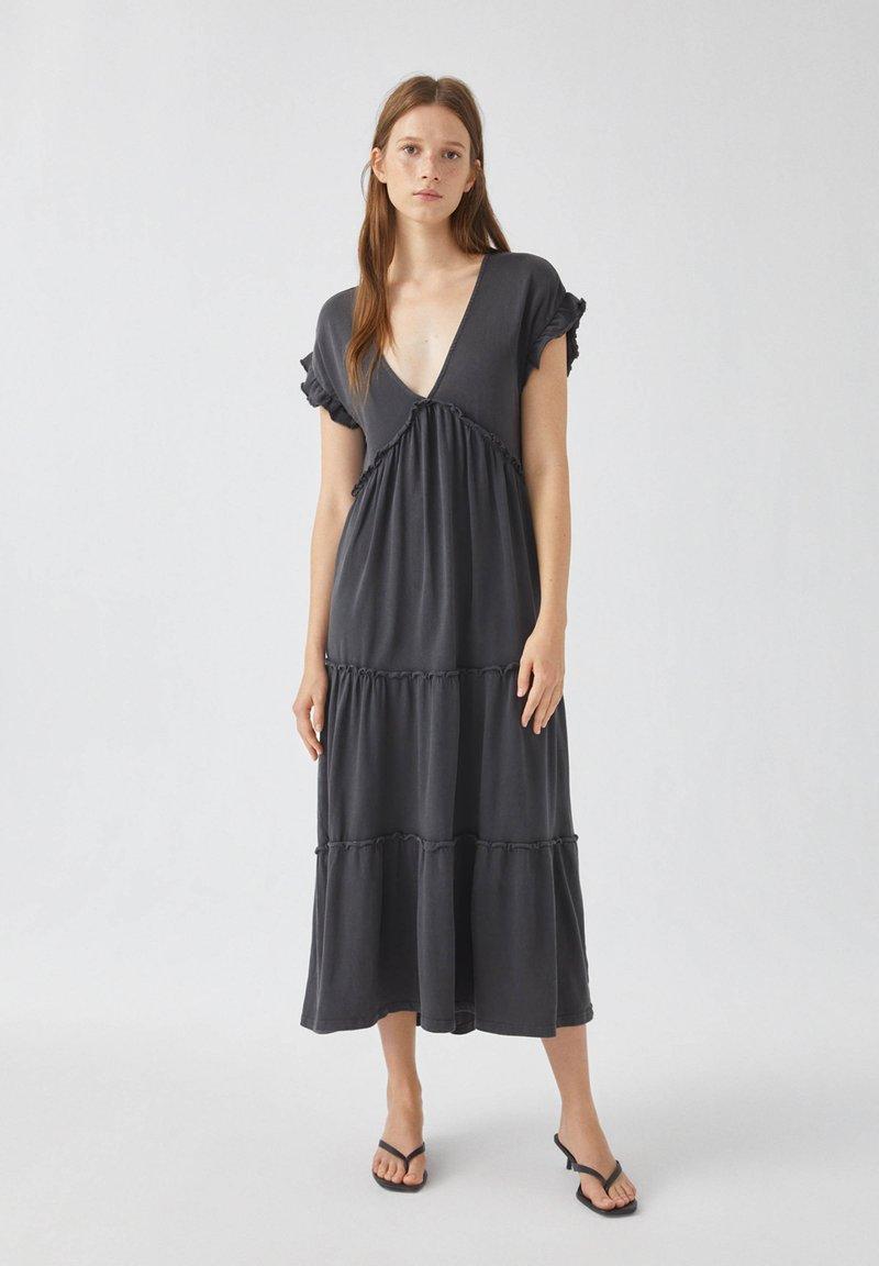 PULL&BEAR - Sukienka letnia - grey