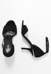 MICHAEL Michael Kors - MALINDA - High heeled sandals - black - 3