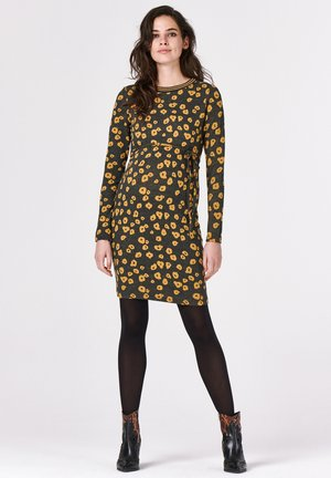 POPPY - Jersey dress - honey mustard