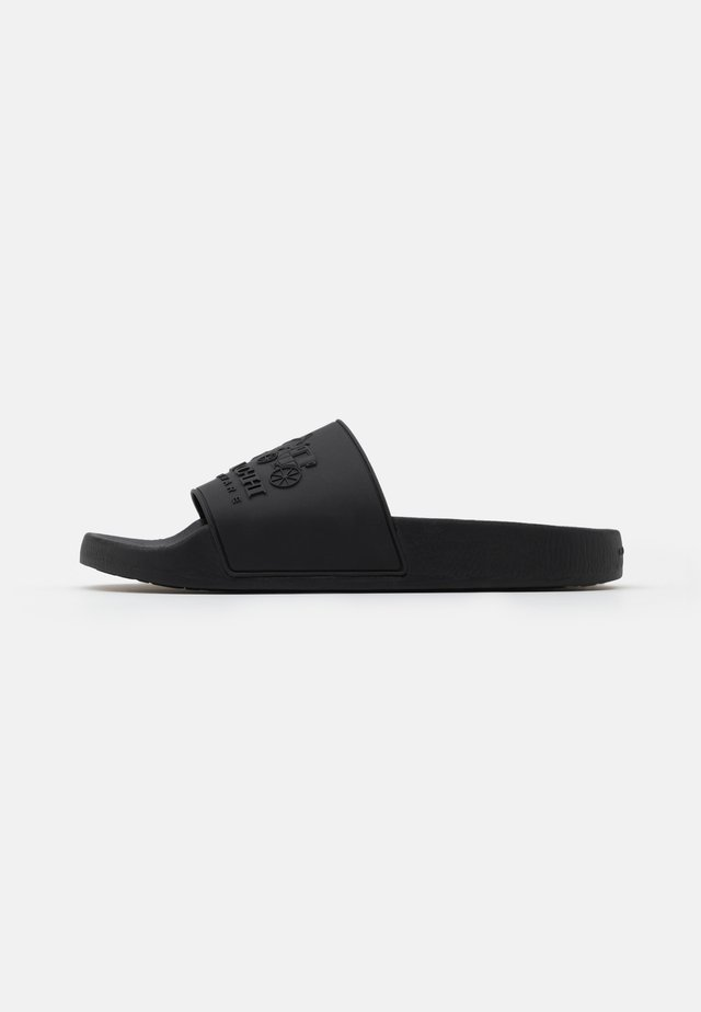3D LOGO SLIDE - Badslippers - black