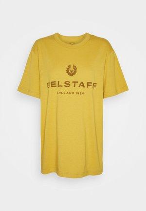 DISTRESSED - Print T-shirt - harvest gold/sienna