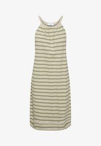 Lounge Nine - LNKYA  - Jersey dress - silver oat stripe - 3