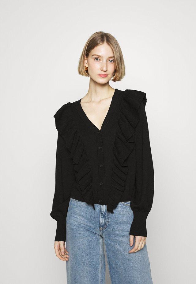 ANEMONE MIRELLA  - Vest - black