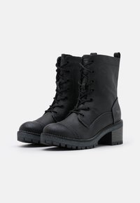 Mustang - Platform ankle boots - graphit - 2