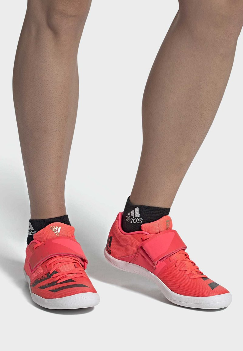 adidas Performance - ADIZERO DISCUS / HAMMER SHOES - Stabilty running shoes - pink