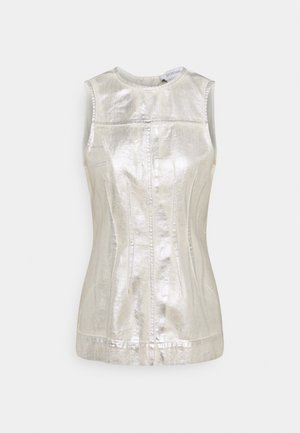 CABLO - Blouse - silber