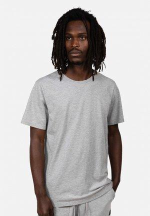 Basic T-shirt - grey metallic