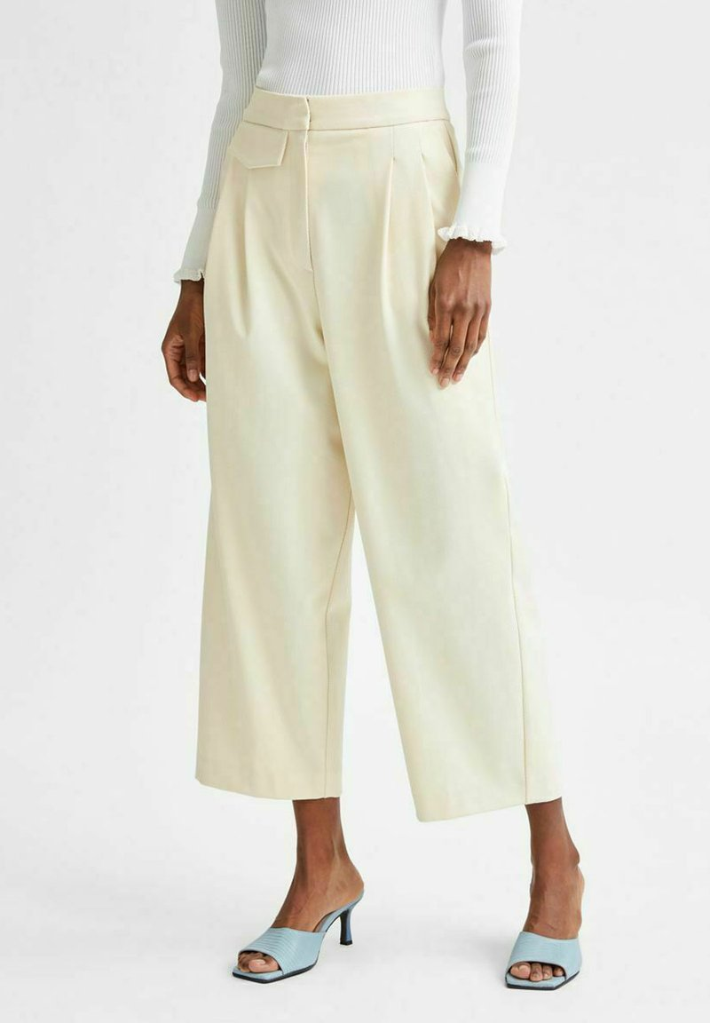 Selected Femme - Stoffhose - birch