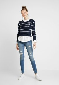 Hollister Co. - ICON CREW - Sweter - navy - 1