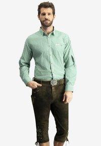Stockerpoint - CAMPOS3 - Shirt - dark green - 0