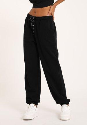 MOLTON - Pantalon de survêtement - schwarz