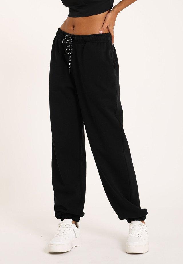 MOLTON - Spodnie treningowe - schwarz