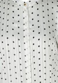 Zizzi - Button-down blouse - white - 4