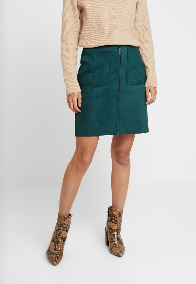 SKIRT - Spódnica mini - jungle green