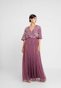 Maya Deluxe - EMBELLISHED KIMONOWRAP MAXI DRESS - Occasion wear - purple - 2