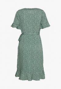 ONLY - ONLOLIVIA  - Sukienka letnia - green/black - 1