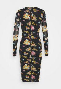 Versace Jeans Couture - LADY DRESS - Jersey dress - black - 6