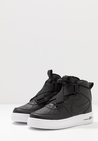 Nike Sportswear - AIR FORCE 1 BG - Sneakers high - black/white - 3