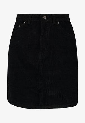 VMKARINA A-SHAPE SHORT - A-line skirt - black