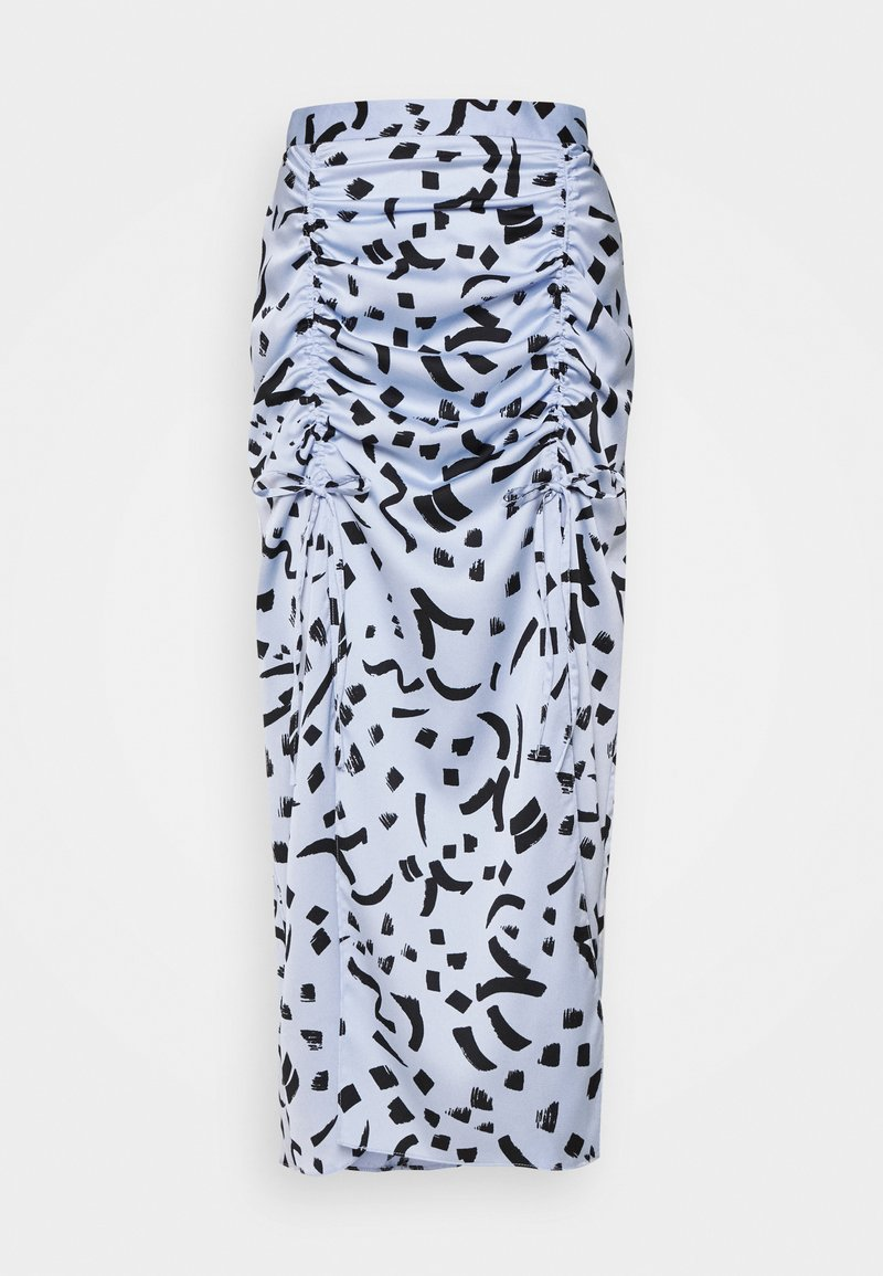 River Island - Pencil skirt - blue