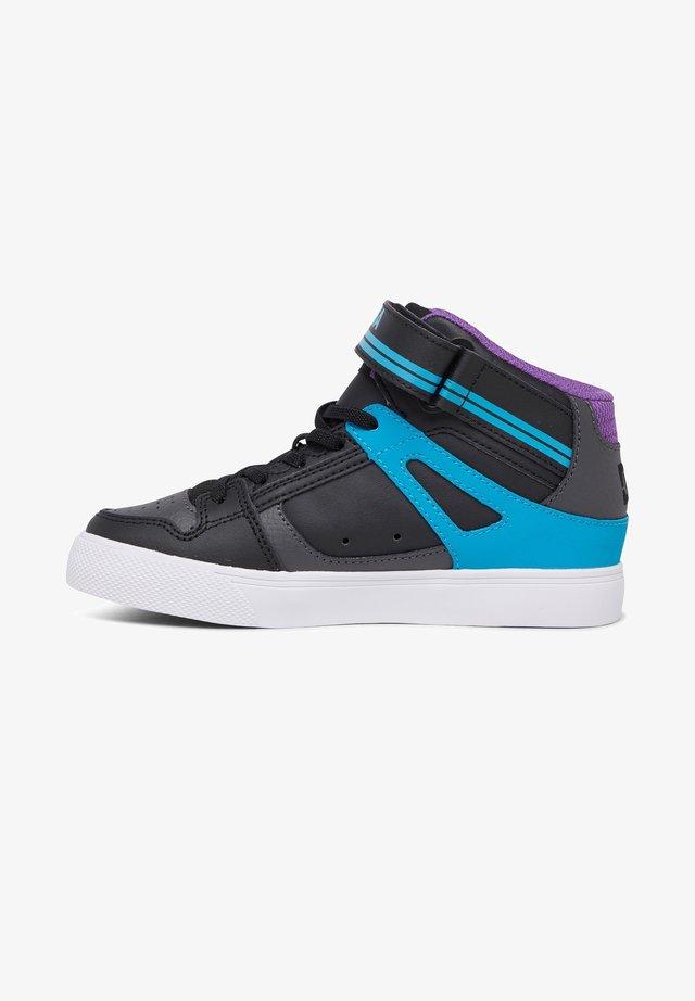 Baskets basses - grey/blue/black