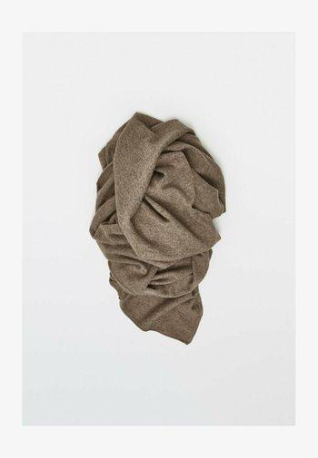 Scarf - metallic grey