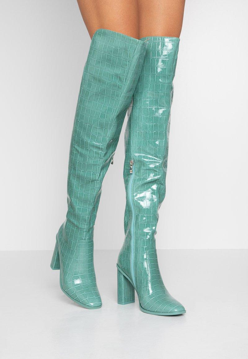 RAID - CYNTHIA - Stivali con i tacchi - turquoise