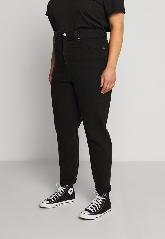 NORA - Jeans Straight Leg - black retro