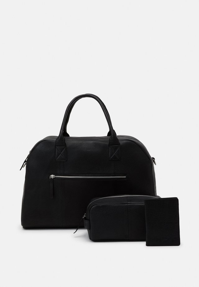 MUNICH SET - Weekendbag - black